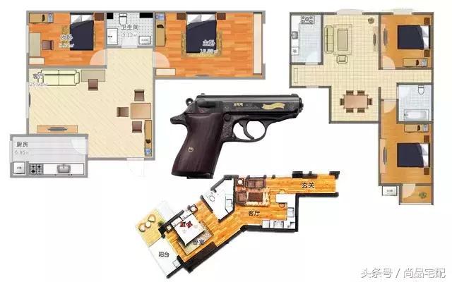 """买房子要注意!不要被这7个表面很""""高档""""户型忽悠了"""