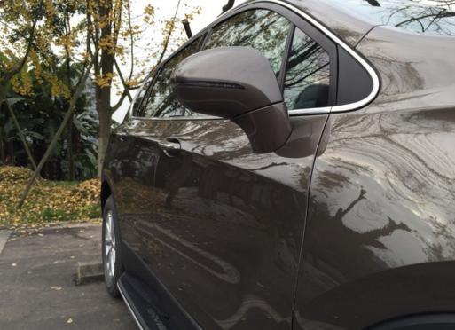 内饰高端大气上档次---浅谈昂科威20T精英型用车分享