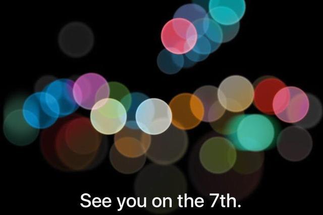 苹果官方确定:9月7日发布iPhone7!中国首发!