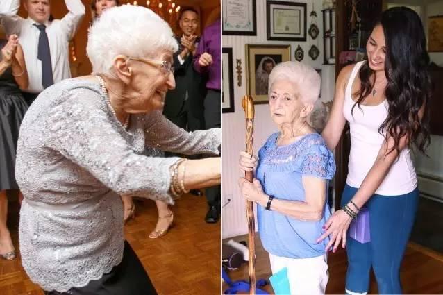 85岁的Anna驼背了十多年,当她开始练习瑜伽后…❤
