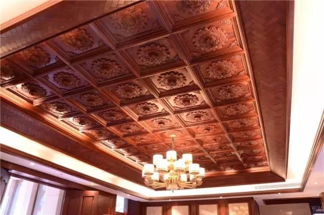 全部用红木装修的豪宅原来长这样,据说价值1000000000元!