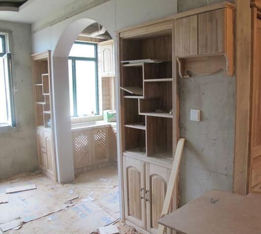 朋友新房装修,花3万请30年经验的老木工施工,这效果我服了!