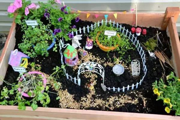 超级赞的迷你花园,赶快造起来!装饰自家的后院或阳台