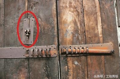 前人的装修智慧:小小门栓的巧妙原理让今人叹服