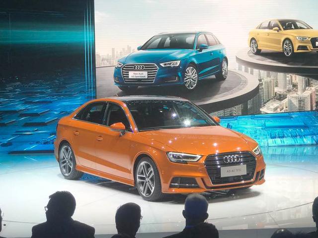 上海车展新奥迪A3正式上市 售18.80-39.98万元