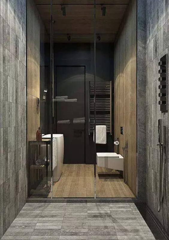 这样的卫生间,男人进去了都不想出来