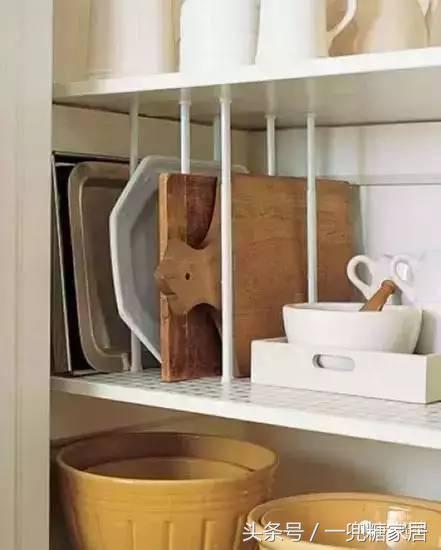 一贴解决10大厨房收纳难题