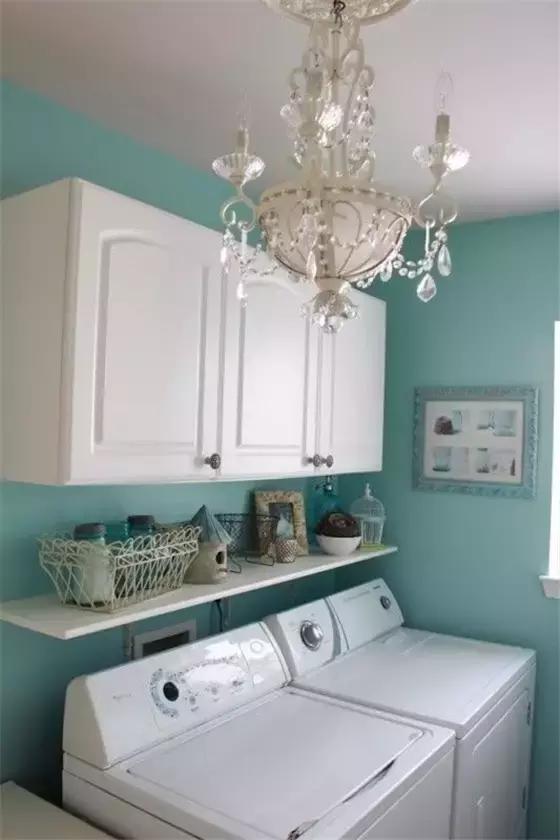 家里做个洗衣房,把收纳发挥到了极致,还可以不用晾衣服!