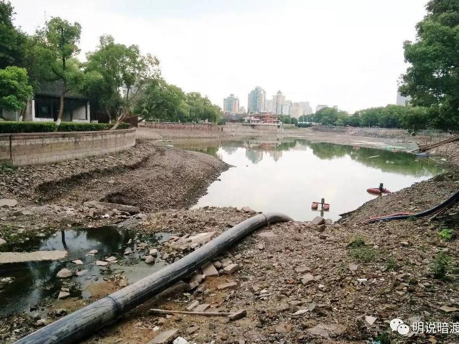 月湖清淤花2000万  日湖已消失 月湖满是人工痕迹