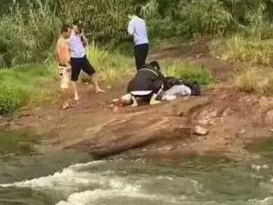 浙江台州遭雷电、暴雨袭击 30岁女子在溪边被雷劈中