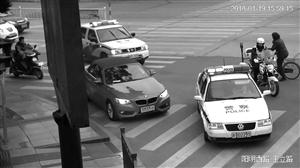 宝马男直播闯红灯 还发微信炫耀 被拘留15天