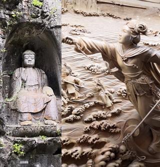 西湖游:雷峰塔水漫金山,灵隐寺佛窟庄严
