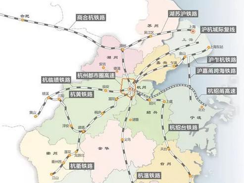 浙江大通道來了 以后寧波來往杭州 開車和坐高鐵時間差不多