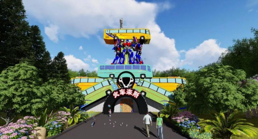 宁波要有火车主题公园了 预计明年6月开园 在江北洪塘那