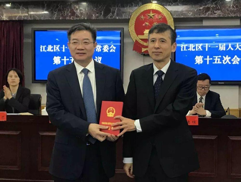 傅贵荣任宁波市江北区人民政府副区长、代理区长