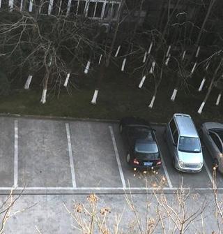 停车场好空!现在还上班的,你们年薪多少?
