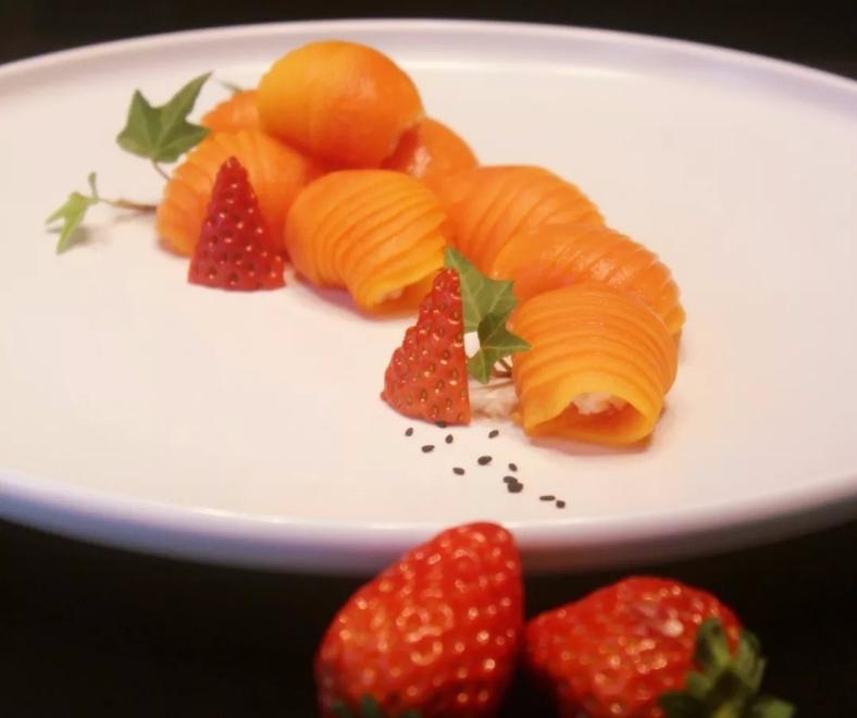 脆爽木瓜包:富含维生素和有机酸,含糖量低,具有美容保健的作用。
