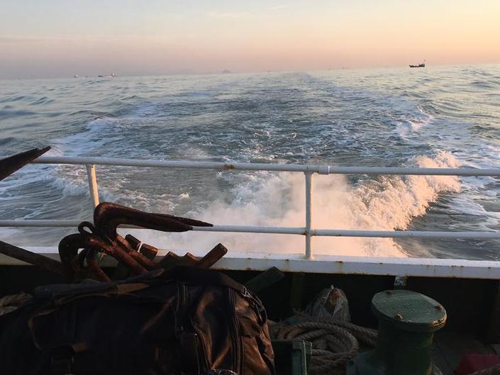 南麂列岛海钓,享受高涌浪钓的快感