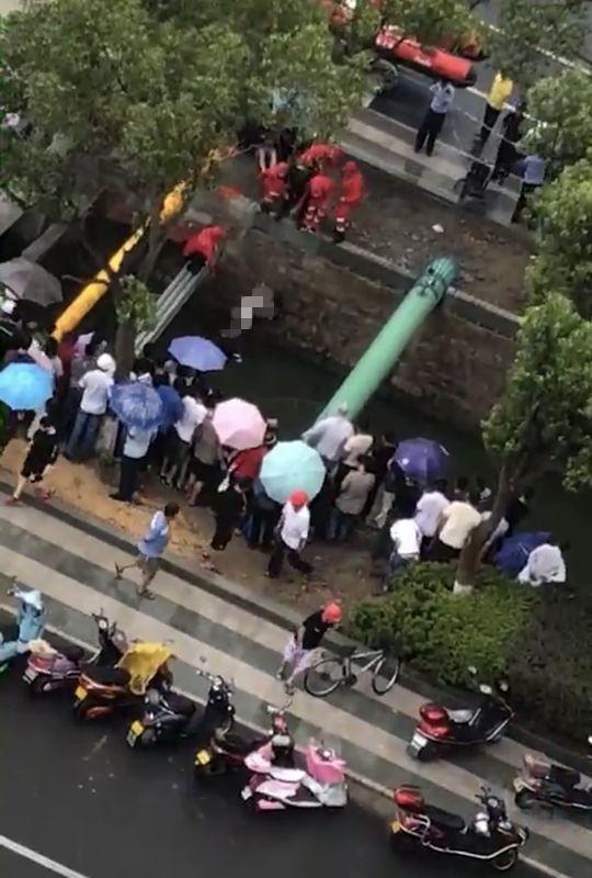 悲剧!宁波象山一对未婚男女驾车坠河,全部身亡。究竟怎么出的事?