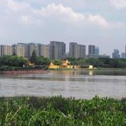 奉化江畔古渡口