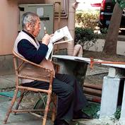晨阅,宁波老人的寻常一天