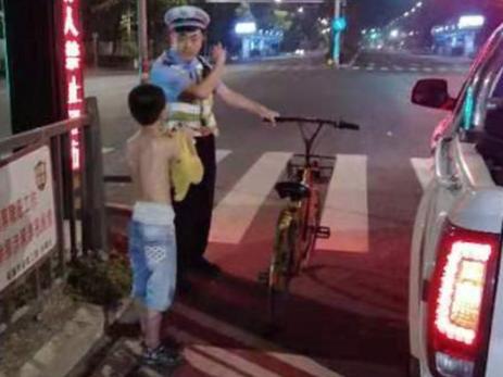 10岁男孩和爸爸吵架,骑车4小时去乐清找妈妈
