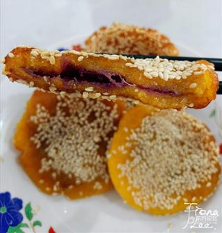 做个南瓜饼当下午茶,这材料太天然实在...
