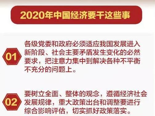 稳字当头!明年,中国经济要干这45件大事