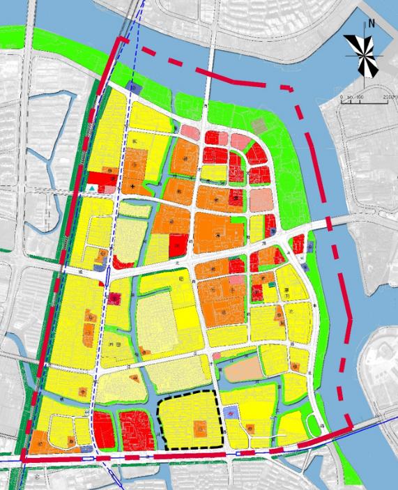 原高塘四村地块将来怎么用?来看看地块的规划条件