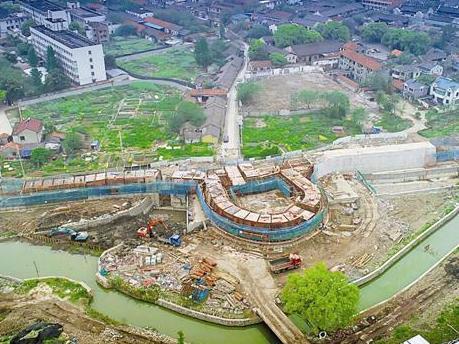 慈城大东门原址重建 将再现千年古县城的历史风貌
