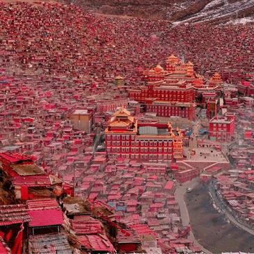 中国最美佛学院色达,值得一去