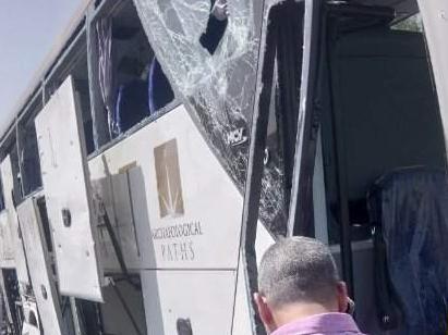 埃及一知名景点附近旅游巴士遭爆炸袭击 至少16人受伤