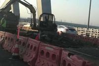 又见明州大桥打补丁