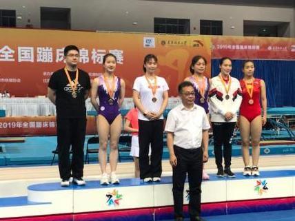 厉害!全国蹦床锦标赛 镇海选手摘2金