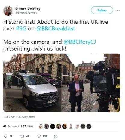 BBC记者亢奋了:全靠华为 英国在这方面已领先中国