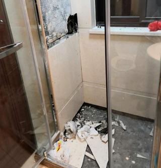 衛生間總發出不明臭味,挖開墻壁后驚呆了