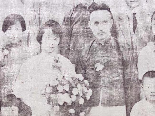 国学大师的结婚照,他在哈佛大学执教十年