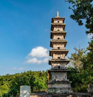 鄞州的寺庙,在秋日里别有风味~