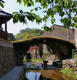 这石拱桥,有186年历史,还有个美丽传说