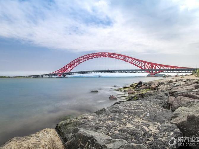 梅山红桥打个卡,天气实在是太热了。