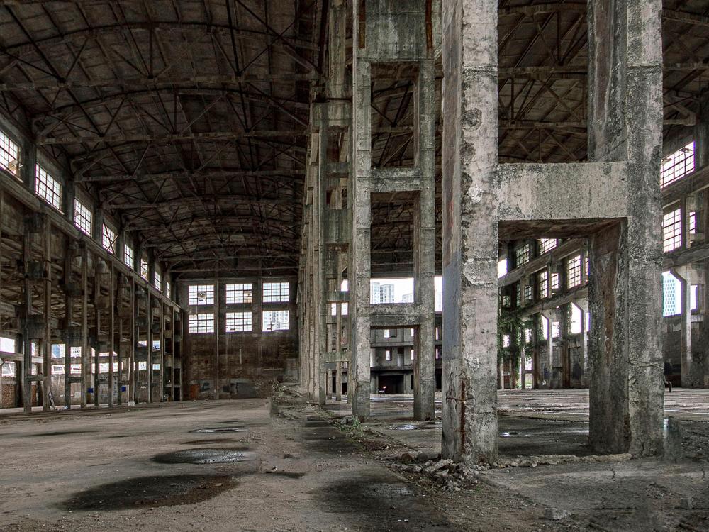 宁波渔轮厂的顶梁柱即将被拆,以后恐难有机会再见