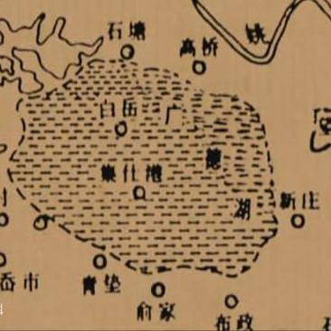 千年前的广德湖图里,看懂宁波历史变迁