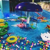 饮用水级别的水上乐园,让孩子开心玩耍!尔趣水王国活动报名20171217(3~6岁)