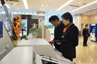 建设银行-超90%非现金业务自己能搞定 智能科技让营业厅更贴心
