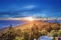 1月20日(周六)登顶括苍山——群山之巅,风车云海涌动,邂逅千年曙光碑